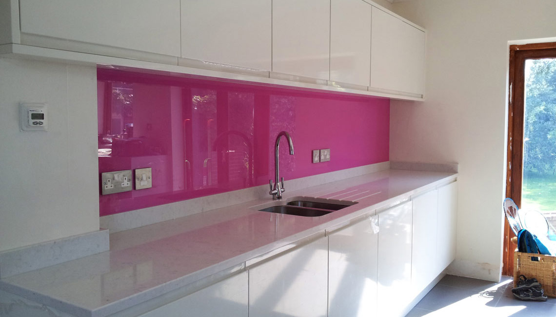Glitter Splashbacks For Kitchens 25 Best Ideas About Pink